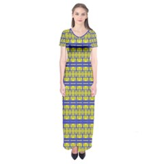 No Vaccine Short Sleeve Maxi Dress
