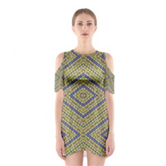 No Vaccine Cutout Shoulder Dress