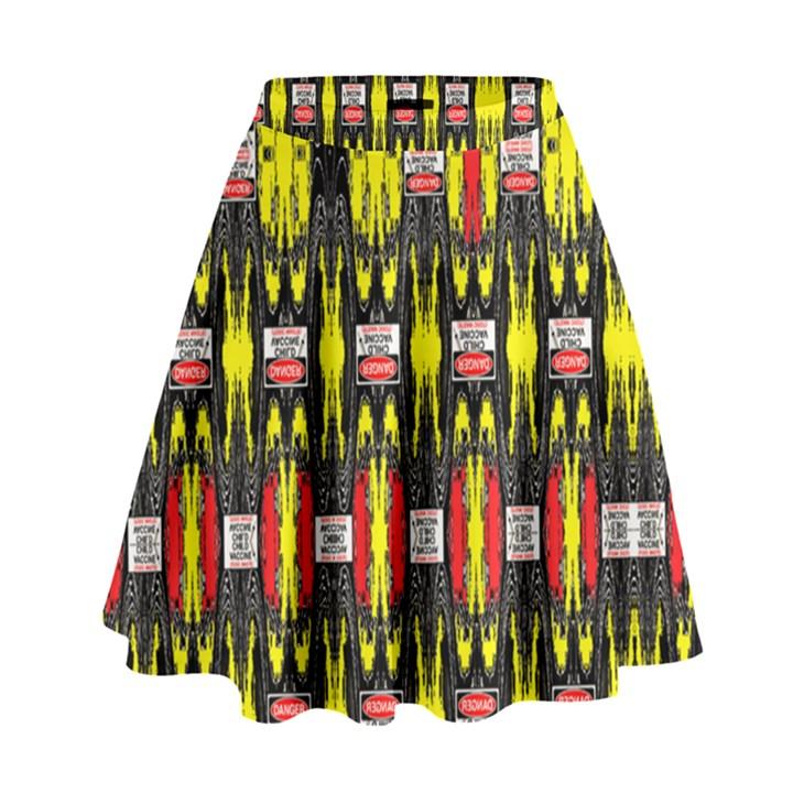 KNOT TWO VAC SIG NEIGHT High Waist Skirt