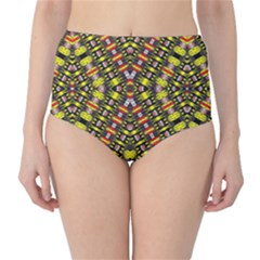 KNOTWO VAC SIGN EIGHT High-Waist Bikini Bottoms
