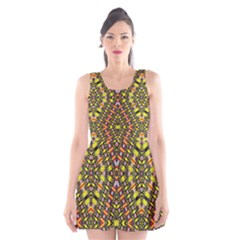 KNOTWO VAC SIGN EIGHT Scoop Neck Skater Dress