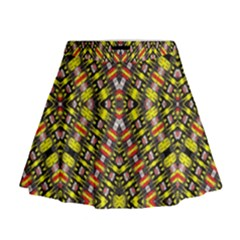 Knotwo Vac Sign Eight Mini Flare Skirt