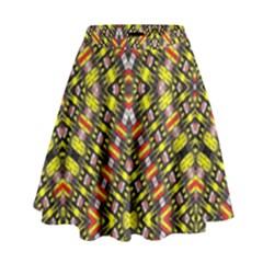 Knotwo Vac Sign Eight High Waist Skirt