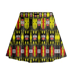 Vacs Sin Eight One Mini Flare Skirt