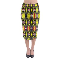 Vacs Sin Eight One Midi Pencil Skirt