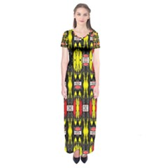 Vacs Sin Eight One Short Sleeve Maxi Dress