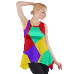 Colorful Misc Shapes                                                  Side Drop Tank Tunic