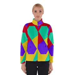 Colorful misc shapes                                                  Winter Jacket