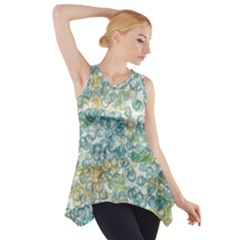 Fading Shapes Texture                                                    Side Drop Tank Tunic