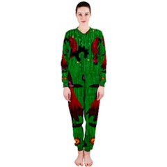Lady Panda In Everglades OnePiece Jumpsuit (Ladies)