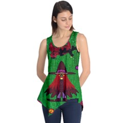 Lady Panda In Everglades Sleeveless Tunic