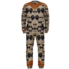Cats With Hats In The Starry Dark Night Onepiece Jumpsuit (men)
