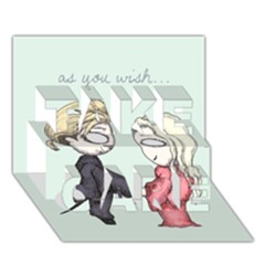 As You Wish TAKE CARE 3D Greeting Card (7x5)