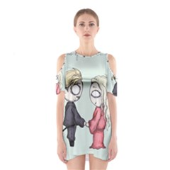 As You Wish Cutout Shoulder Dress