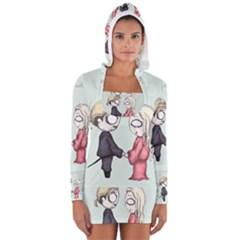 As You Wish Women s Long Sleeve Hooded T-shirt