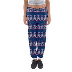 Hearts pattern                                                      Women s Jogger Sweatpants