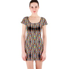Help One One Two Short Sleeve Bodycon Dress