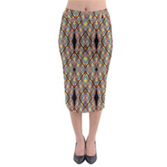 Help One One Two Midi Pencil Skirt