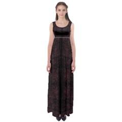 Spotted Empire Waist Maxi Dress