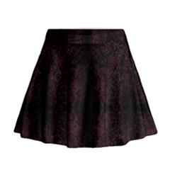 Spotted Mini Flare Skirt