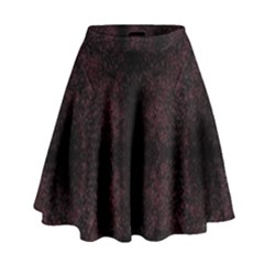 Spotted High Waist Skirt