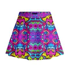 DONOVAN Mini Flare Skirt