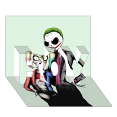 Suicide Nightmare Squad BOY 3D Greeting Card (7x5)