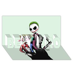 Suicide Nightmare Squad BEST BRO 3D Greeting Card (8x4)