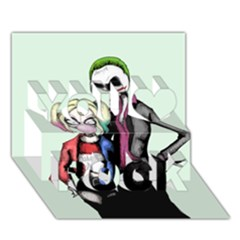 Suicide Nightmare Squad You Rock 3d Greeting Card (7x5)