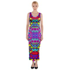 Donovan Fitted Maxi Dress