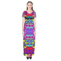 DONOVAN Short Sleeve Maxi Dress