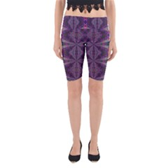 Time Space Yoga Cropped Leggings