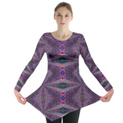 Time Space Long Sleeve Tunic