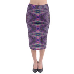 Time Space Midi Pencil Skirt