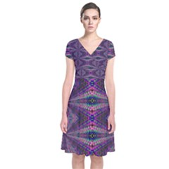 Time Space Wrap Dress