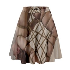 Shibari King Of Diamonds High Waist Skirt