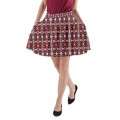 13391575 567453523434868 35678141525291975 O 1yyhh A-Line Pocket Skirt