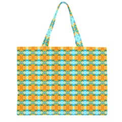 Dragonflies Summer Pattern Large Tote Bag