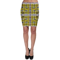 Vaccine Bodycon Skirt