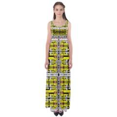 VACCINE Empire Waist Maxi Dress