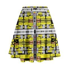 Vaccine High Waist Skirt