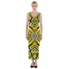 Select Accine Fitted Maxi Dress