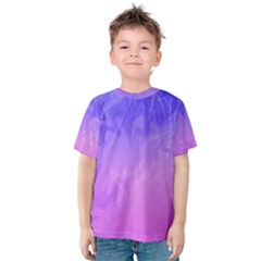 Ombre Purple Pink Kid s Cotton Tee
