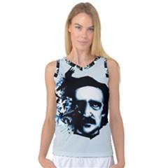 Edgar Allan Poe Crows Women s Basketball Tank Top
