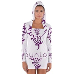 Younique Women s Long Sleeve Hooded T-shirt