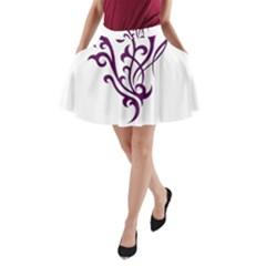 Younique A-Line Pocket Skirt