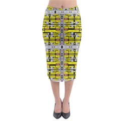 Natures Wey Midi Pencil Skirt