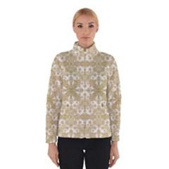 Golden Floral Boho Chic Winterwear