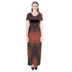 Velvel Short Sleeve Maxi Dress