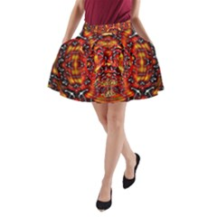 WIND REY N FYAIR A-Line Pocket Skirt